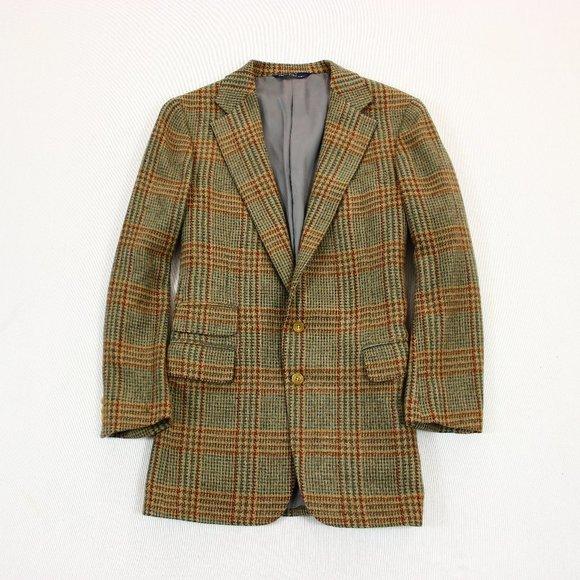 Polo Ralph Lauren Tweed Wool Blazer Sport Coat